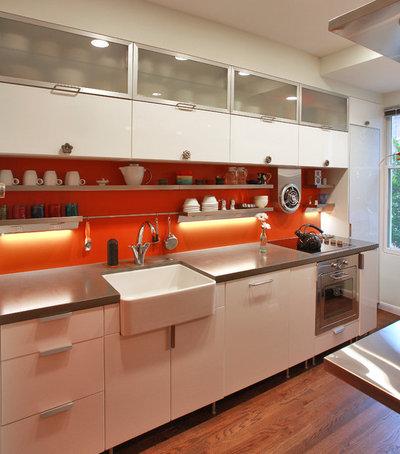 Industrial Kitchen by Kingston Design Remodeling