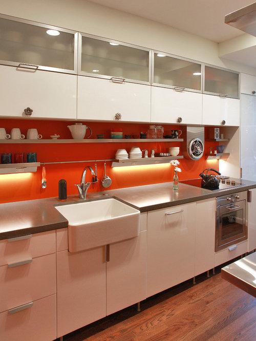 Kitchen Backsplash Orange 30 best kitchen with orange backsplash ideas   houzz
