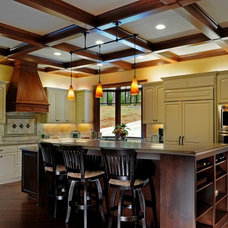 Traditional Kitchen by Sam Marsico