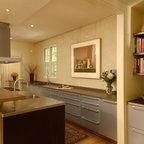 Central Park South Apartment Kitchen Modern Kitchen