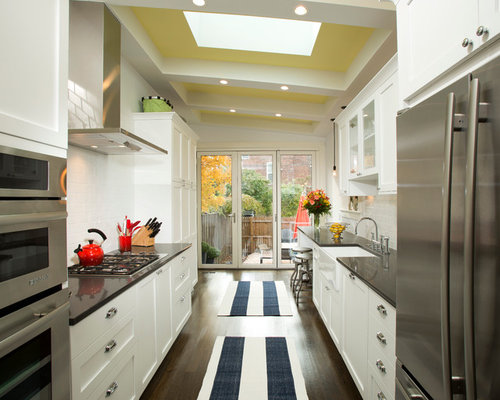 ideas for narrow kitchens sink without window ideas pictures remodel and decor 18689