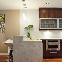 contemporary kitchen by Buchman Photo