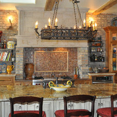 Mediterranean Kitchen by Rawhide Ranch Co
