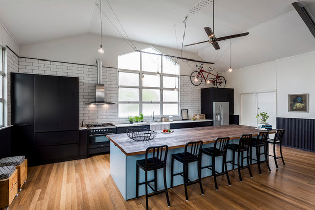 Industrial Kitchen by Kitchens by Kathie