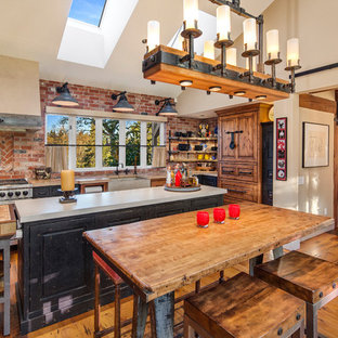 Designer Farmhouse Kitchen