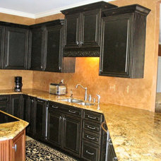 Traditional Kitchen by Designer Faux Finishes
