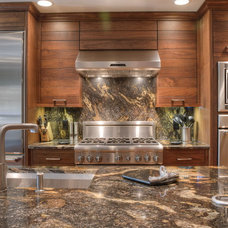 Contemporary Kitchen by Norcia Fine Cabinetry
