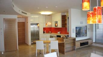 Designing a house in Tell Aviv