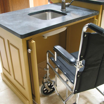 Designing For Wheelchair Access In A Kitchen