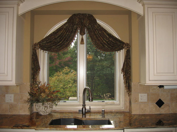 Traditional Curtains by Designing Interiors Inc