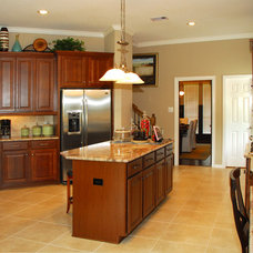 Traditional Kitchen by Designs Anew Houston LLC