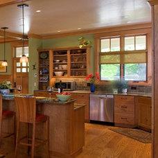 Craftsman Kitchen by WW Builders Design/Build Associates