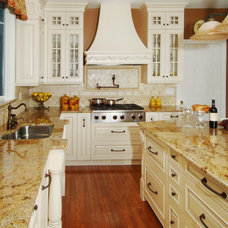 Traditional Kitchen by Tobias Design LLC