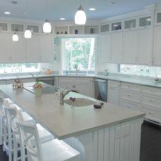 Contemporary Kitchen by Dancer Concrete Design