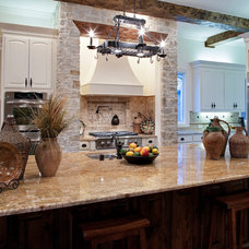 Traditional Kitchen by LRO Residential