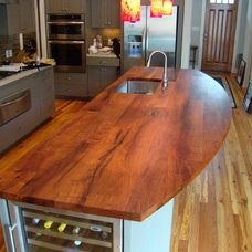Eclectic Kitchen by DeVos Custom Woodworking