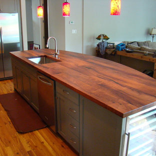 DeVos Woodworking Mesquite Island Top is the Centerpiece for Beauty & Function