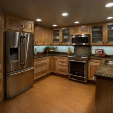 Tropical Kitchen by DeWils Custom Cabinetry