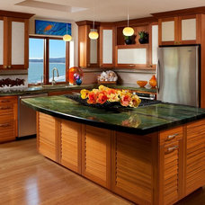 Mediterranean Kitchen by DeWils Custom Cabinetry