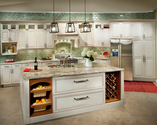 Craftsman style cabinetry Kitchen design center el segundo