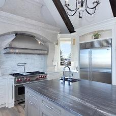 Contemporary Kitchen by Martin's Custom Finishing Ltd