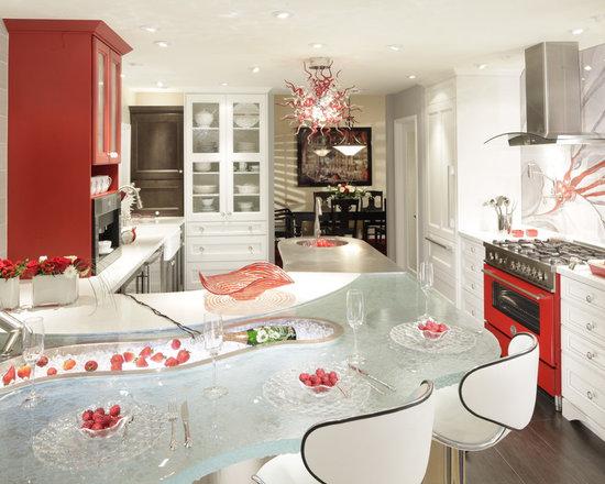 Unique Kitchen Designs Houzz Nice Look