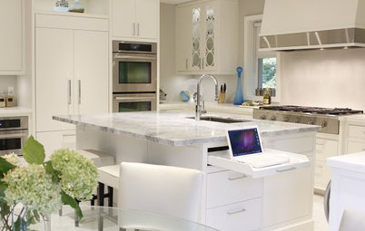 Are These the Best Kitchen Islands With Built-in Tech?