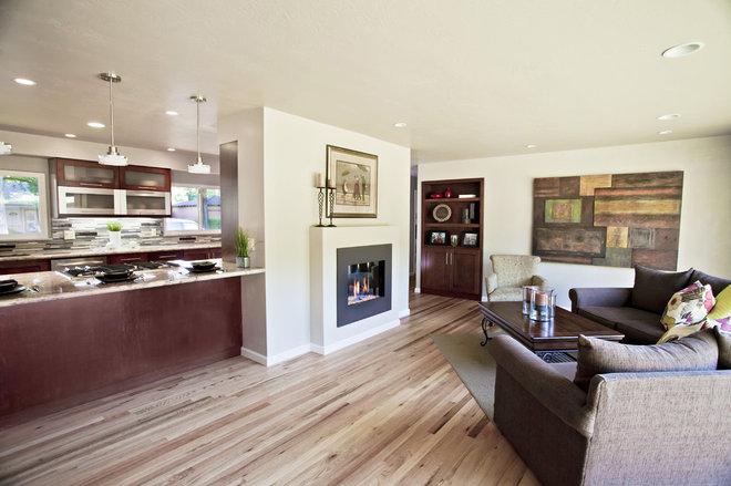 Contemporary Kitchen by Trinity Renovation, Inc.
