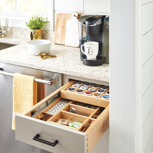 Diamond Cabinets: Tiered K-Cup Drawer