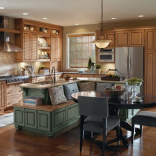 Farmhouse Kitchen by MasterBrand Cabinets, Inc.