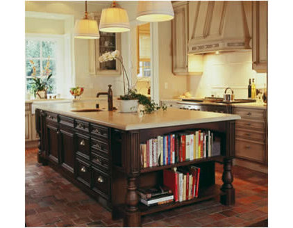Traditional Kitchen by Einstein Design Group