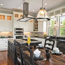 Contemporary Kitchen by Dibros Design & Construction