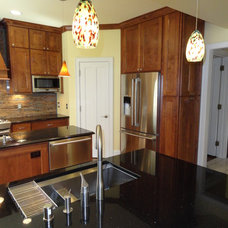 Traditional Kitchen by FAUST WOODWORKING, INC