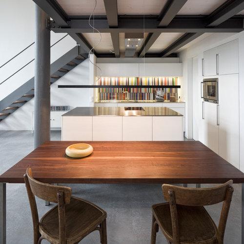 industrial k che ideen bilder. Black Bedroom Furniture Sets. Home Design Ideas