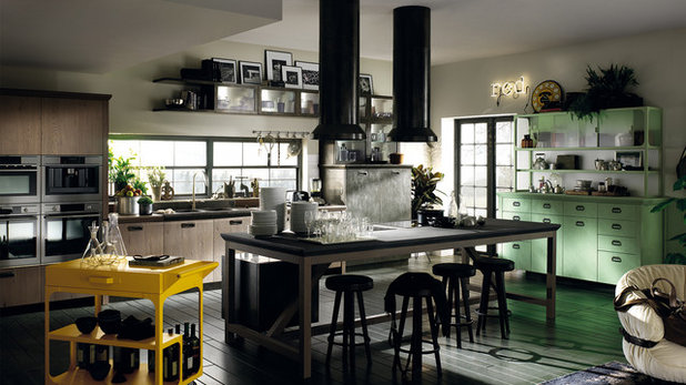 Лофт Кухня by Scavolini Kitchen, Living and Bathroom