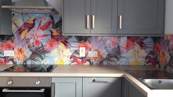 Digitally Printed Splashback