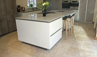 'Dijon' Natural Limestone Flooring, Tumbled finish.