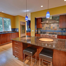 Contemporary Kitchen by Envision Web