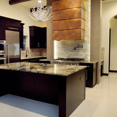 Contemporary Kitchen by Dillon Custom Homes