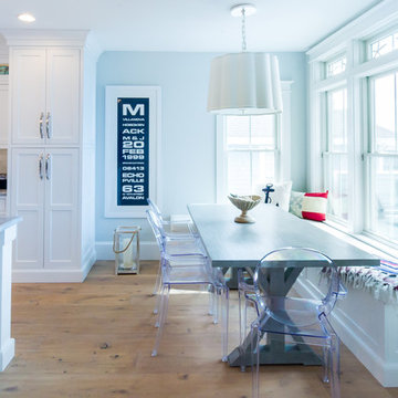 Dine-in Kitchen with Custom Window Seat in Avalon NJ