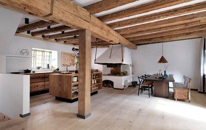 15 danske hjem med skønne træspær