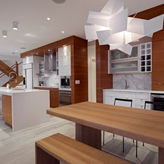 contemporary kitchen by Habitat Studio & Workshop