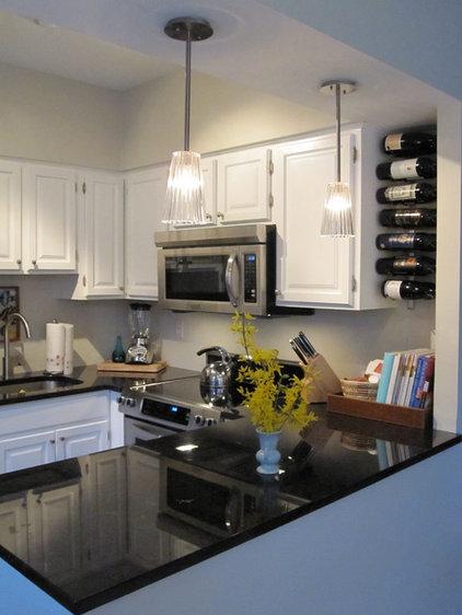 Contemporary Kitchen by Megan Blake Design