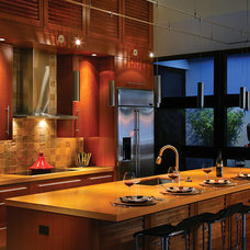 Asian Kitchen by Lighting Elegance