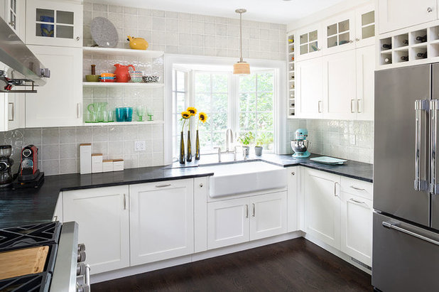 Transitional Kitchen by ALL Design