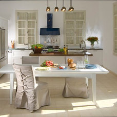 Transitional Kitchen by Elad Gonen