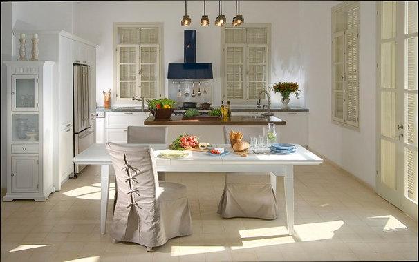 Transitional Kitchen by Elad Gonen