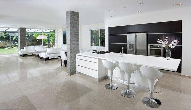 Contemporary Kitchen by Elad Gonen