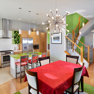 Dining Room, Kitchen and Stairs