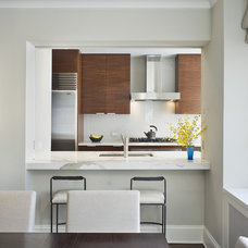 Modern Kitchen by Laurie Lieberman Architects